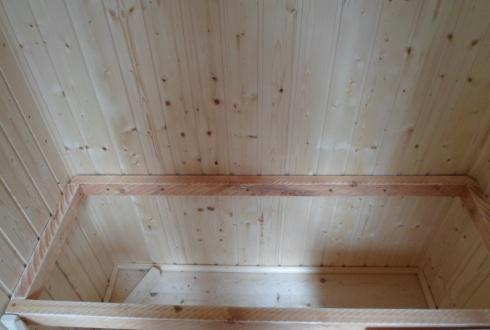 Die Rahmenkonstruktion aus Dachlatten